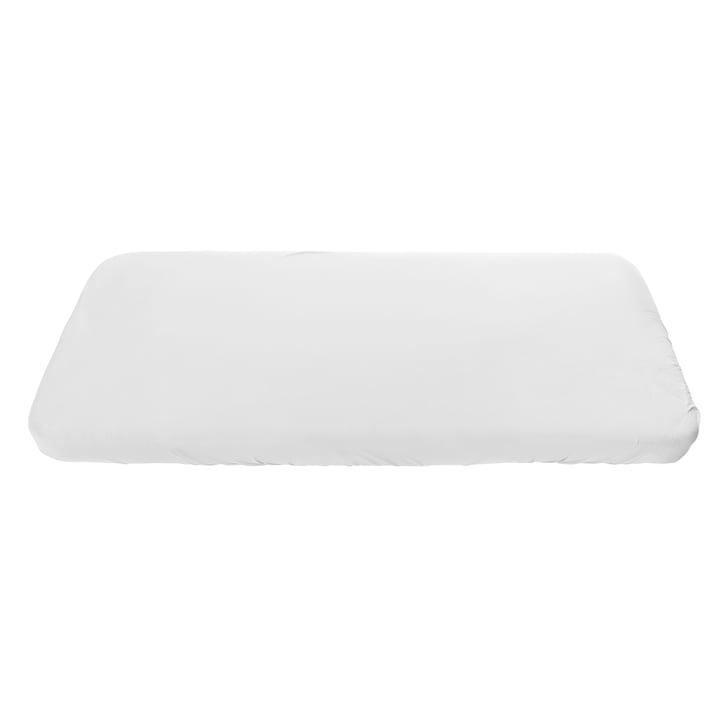 Junior fitted sheet from Sebra in white