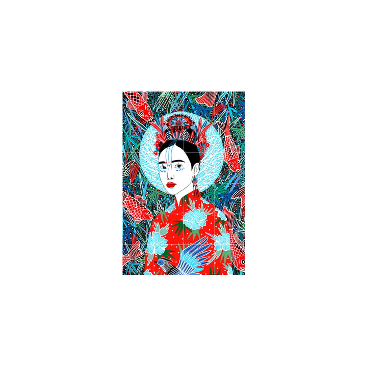 The Japan mural from IXXI , 80 x 120 cm