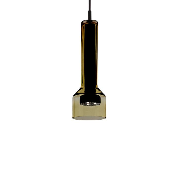 Stablight pendant Ø 10 x H 27 cm from Artemide in green amber