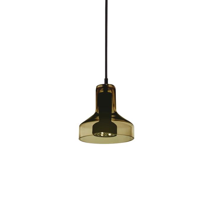 Stablight pendant lamp Ø 13,5 x H 13 cm from Artemide in green amber