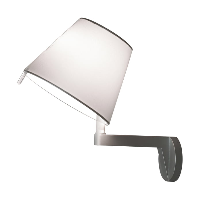 The Melampo Parete from Artemide in aluminium grey