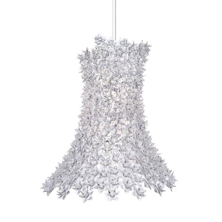 Bloom Pendant light H 70 cm from Kartell in crystal