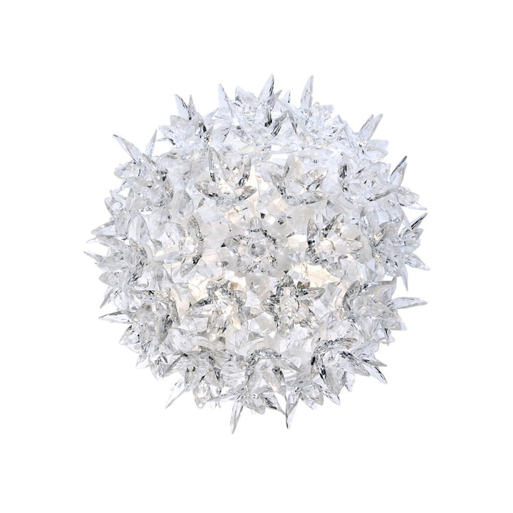Bloom CW2 Wall light small from Kartell in crystal clear
