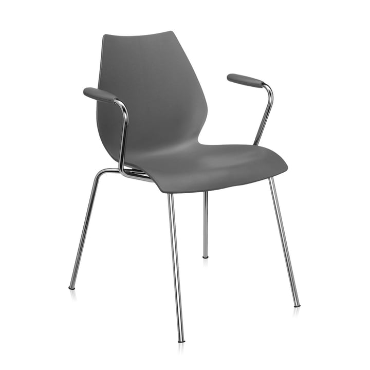 Maui Armchair 2872, anthracite from Kartell