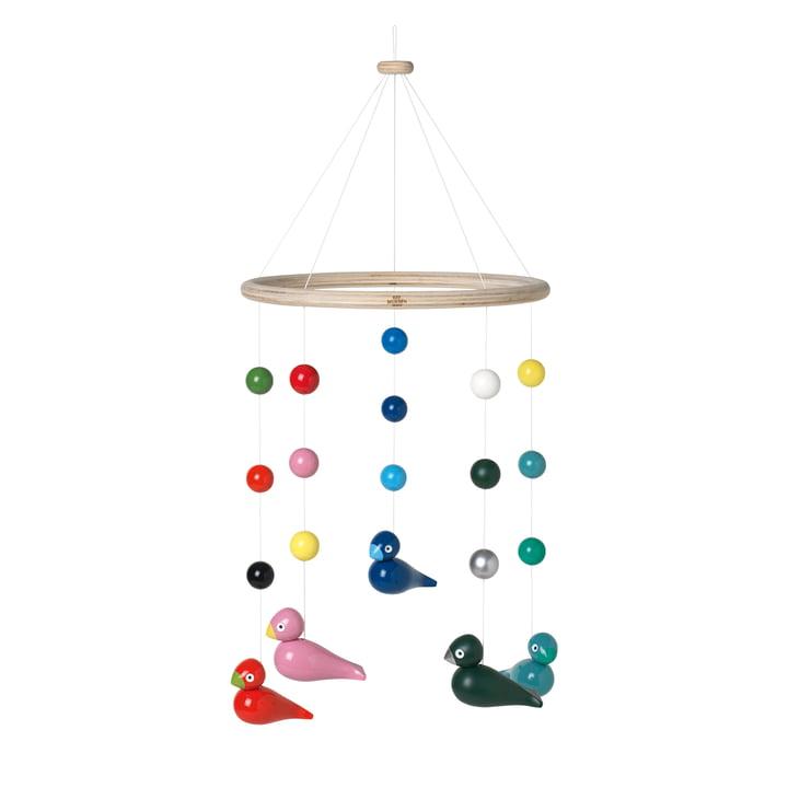 Songbirds Mobile Ø 23,5 cm, multi of Kay Bojesen