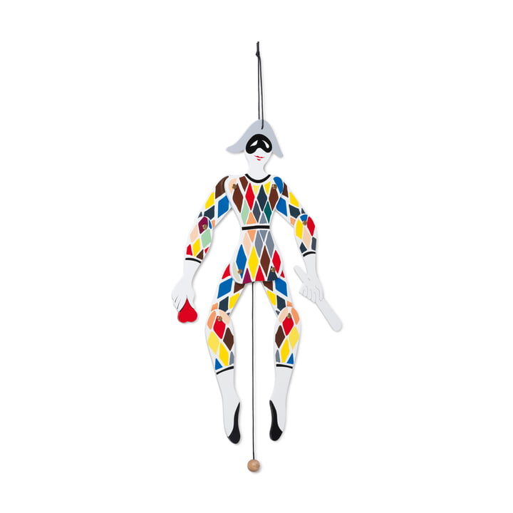 Harlequin Jumping Jack, multi of Kay Bojesen