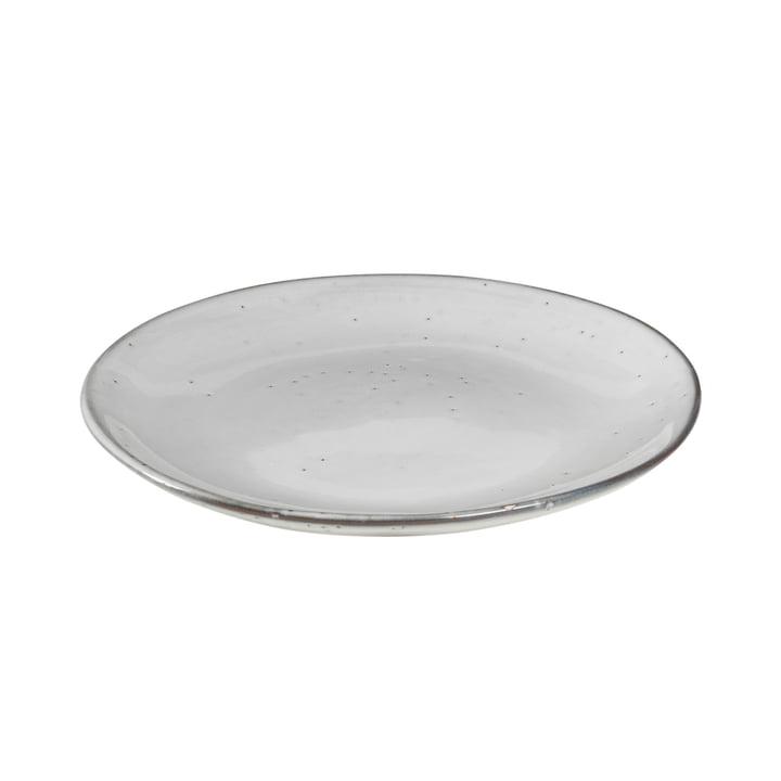 Nordic Sand Dessert plate Ø 20 x H 2.2 cm from Broste Copenhagen