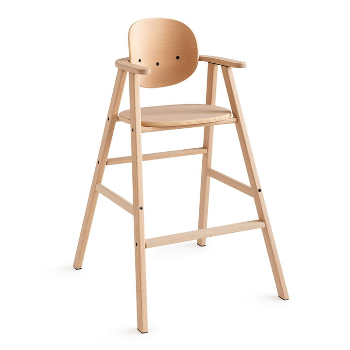 Growing Green Kids chair from Nobodinoz in beech wood