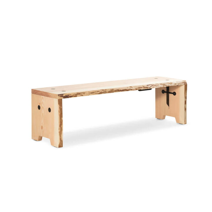 The Forestry bench from Weltevree , L 160 cm, Douglas fir