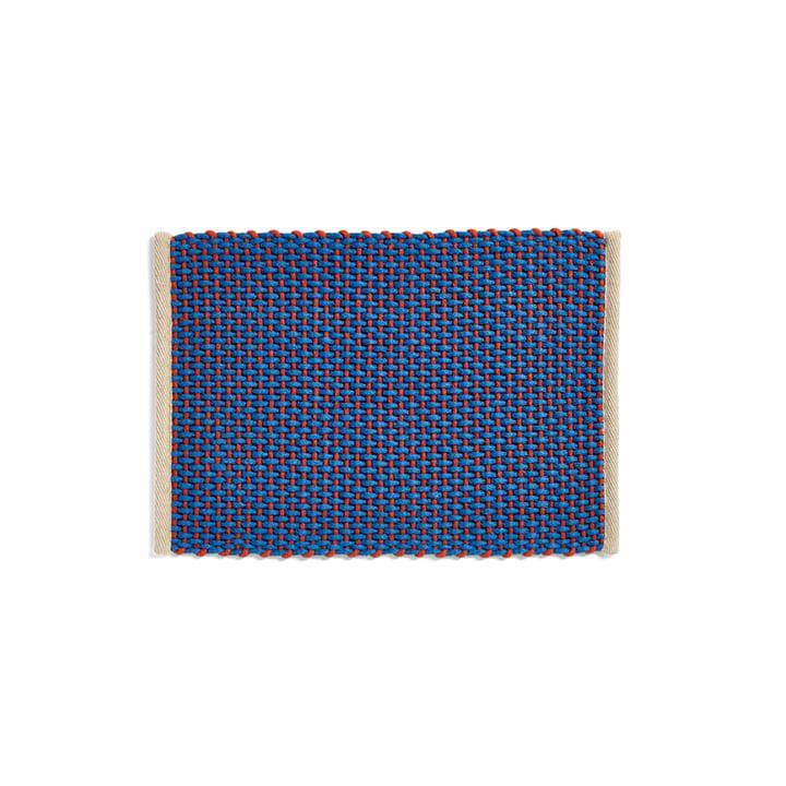 Door Mat Doormat, 50 x 70 cm, blue from Hay