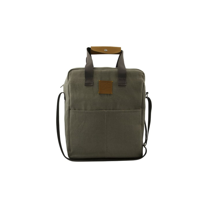 House Doctor - Picnic cooler bag, army green