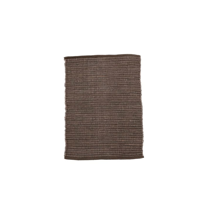 The Chindi carpet from House Doctor in brown, 90 x 60 cm