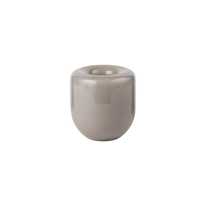 Opal Vase small Ø 14 x H 16 cm, beige opal by Kristina Dam Studio