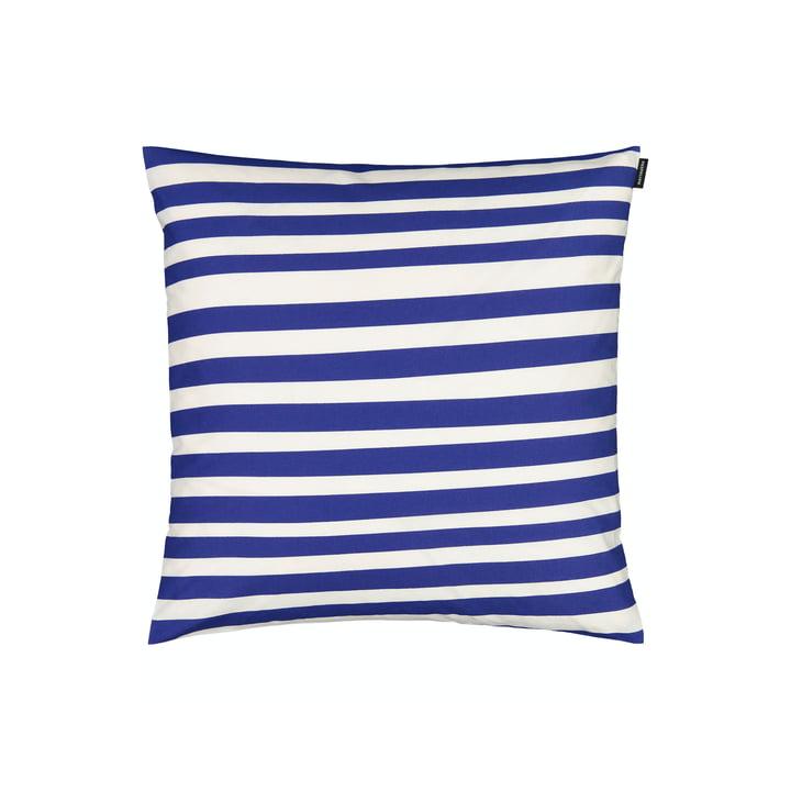 The Uimari pillowcase from Marimekko in white / blue