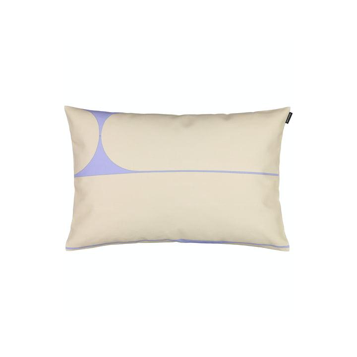 The Putki pillowcase by Marimekko, 40 x 60 cm, beige / blue