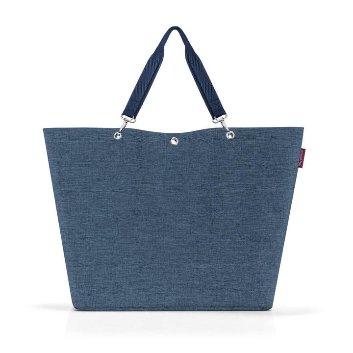 The Shopper XL from reisenthel in twist blue