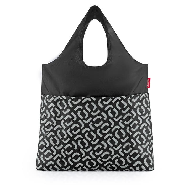The mini maxi shopper plus of reisenthel in signature black