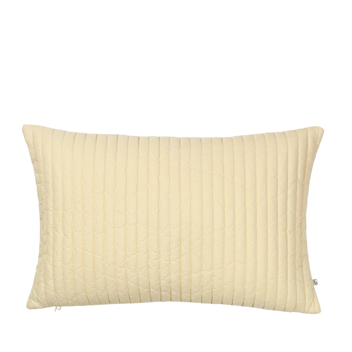 The Sena pillowcase from Broste Copenhagen in golden fleece, 40 x 60 cm