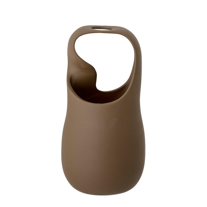 The Nikita vase from Bloomingville in brown, h 28 cm