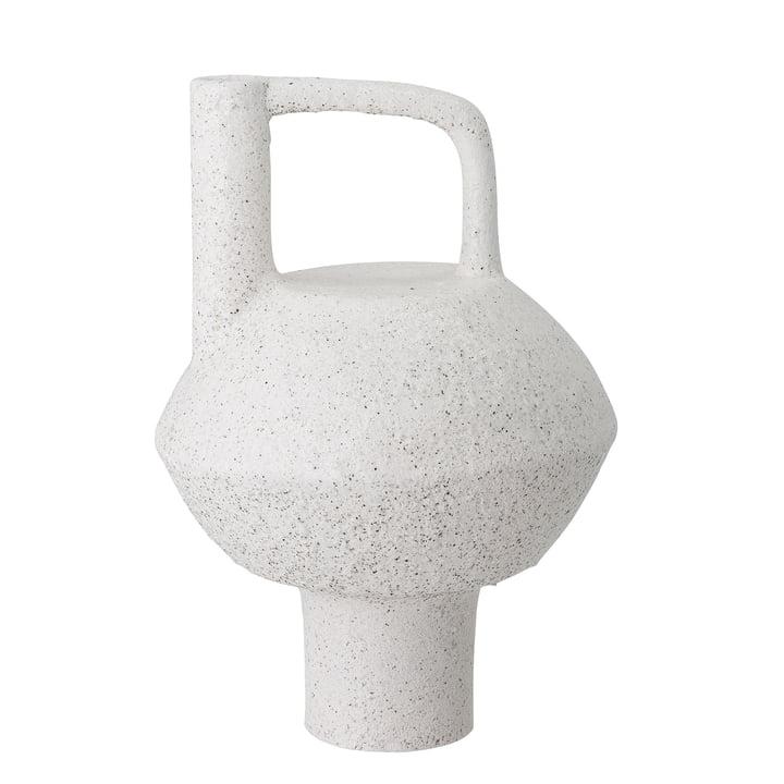 The Loka Vase from Bloomingville , H 34 cm, white