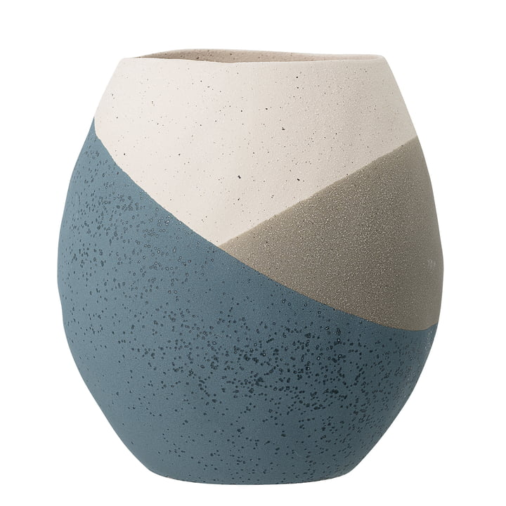 The Noak flowerpot from Bloomingville in blue, Ø 20,5 cm
