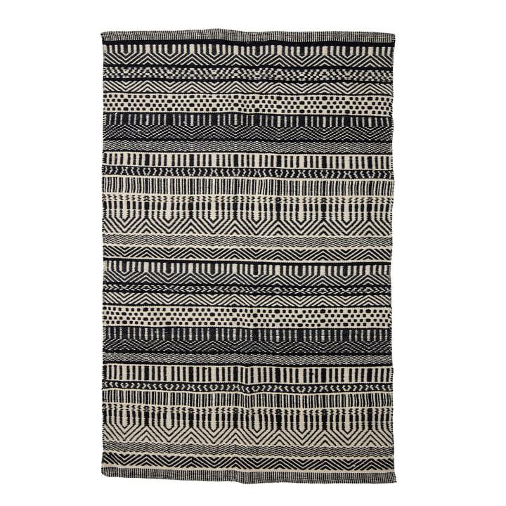 Joob Carpet, 180 x 120 cm from Bloomingville in black