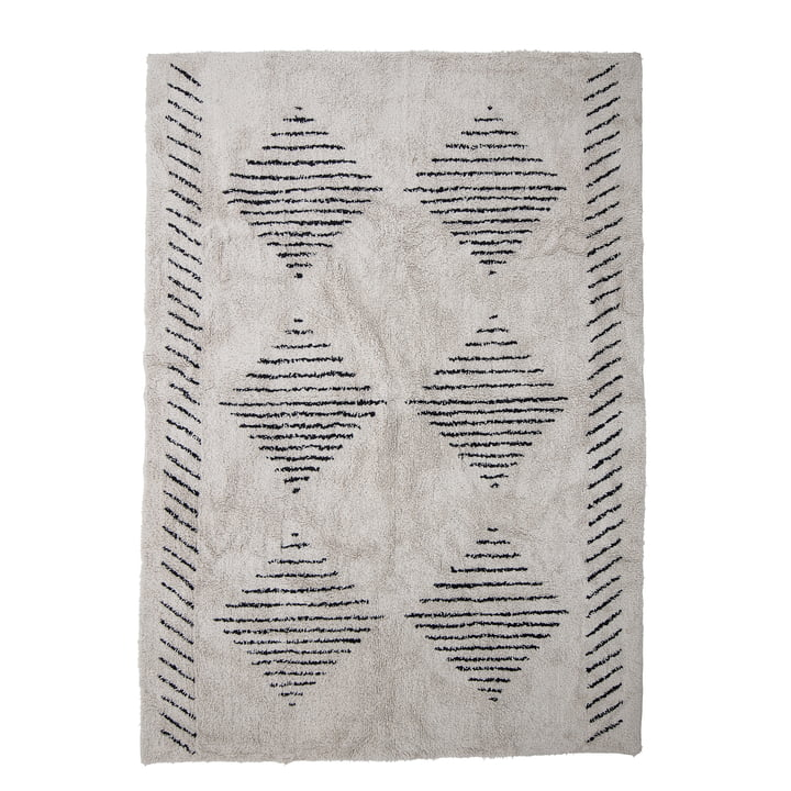 The Jegor carpet from Bloomingville , 200 x 140 cm, nature