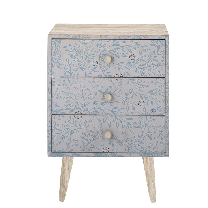 The Frigga children's chest of drawers from Bloomingville , grey
