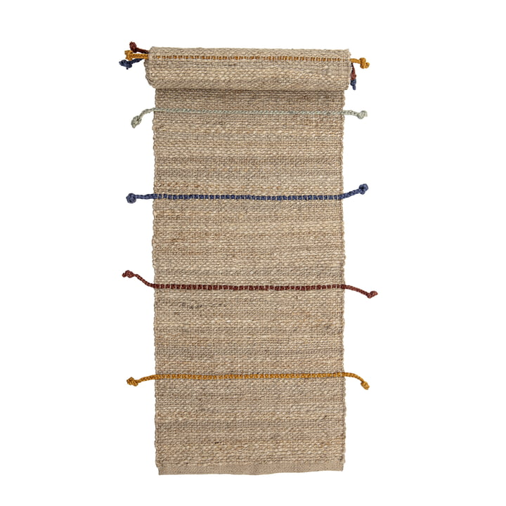 The Claas carpet from Bloomingville , 200 x 50 cm, jute natural