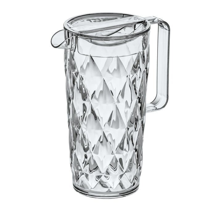 The CRYSTAL jug 1. 6 l from Koziol , crystal clear