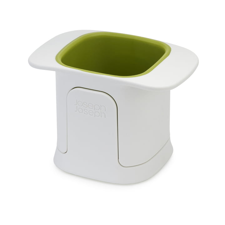 The ChopCup vegetable chopper from Joseph Joseph in white