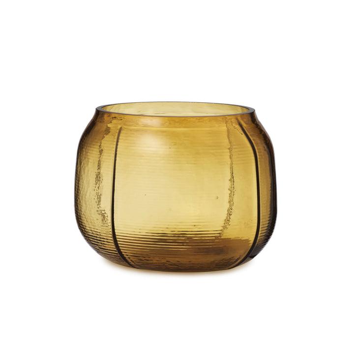 The Step Vase from Normann Copenhagen , H 16 cm, brown