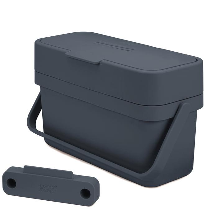 The Compo 4 organic waste bin incl. holder from Joseph Joseph in graphite