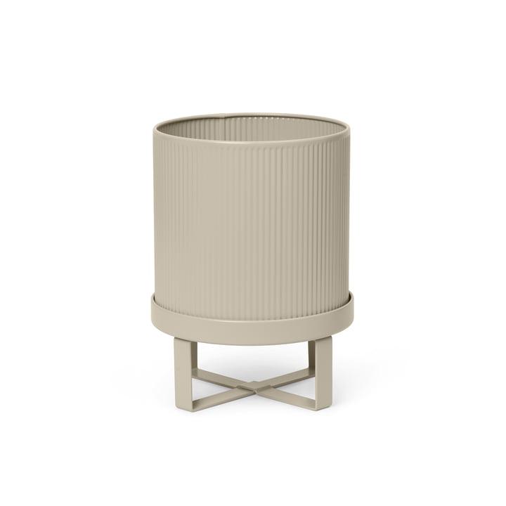 The Bau Plant pot by ferm Living in cashmere, Ø 18 x H 24 cm
