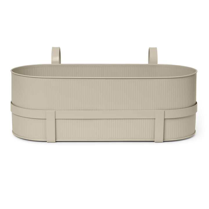 The Bau Balcony Box from ferm Living in cashmere