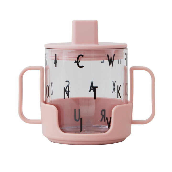 The Grow with your Glass Starter set children drinking glass from Design Letters in nude (3pcs.)