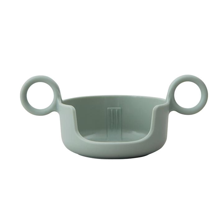 The holder for AJ melamine mugs from Design Letters in green