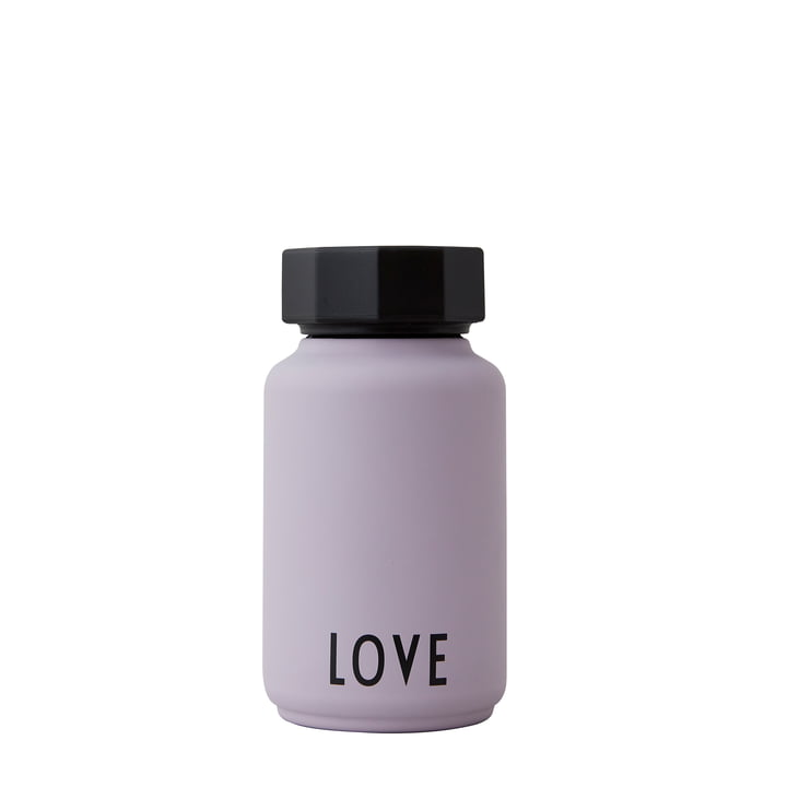 The AJ Thermos Hot & Cold from Design Letters , Love / lavender (special edition)