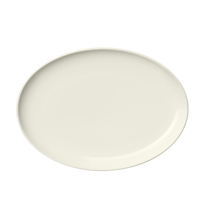 The Essence plate from Iittala , oval 25 cm, white