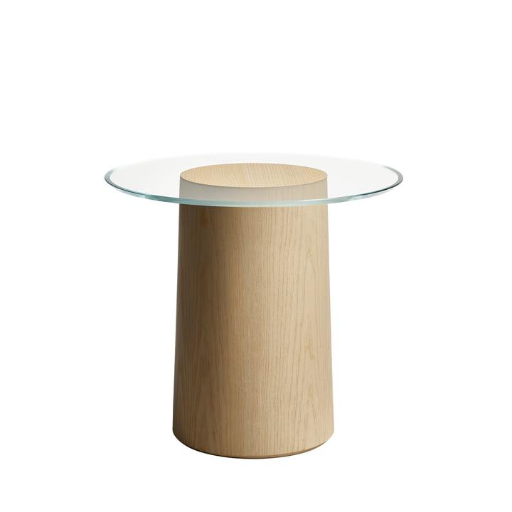 Stub Side table H 44,5 Ø 49 cm from Fritz Hansen in ash