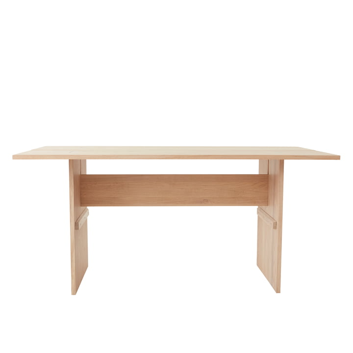 The Kotai table from OYOY , 160 x 80 cm, oak white pigmented