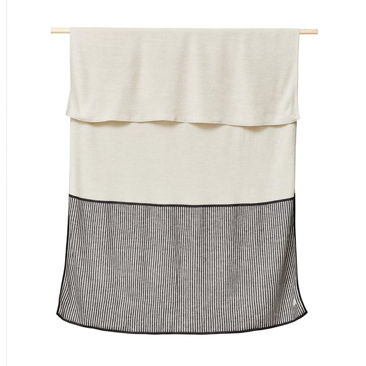 Aymara Blanket, 130 x 170 cm, rib cream from Form & Refine