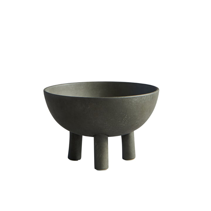 The Duck bowl from 101 Copenhagen, large, dark grey