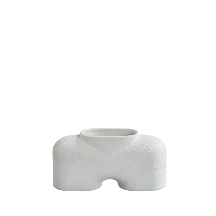 The Cobra Vase from 101 Copenhagen, Fat - Bubble White