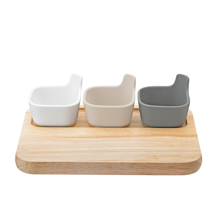 The Tapas serving platter set from Rig-Tig by Stelton