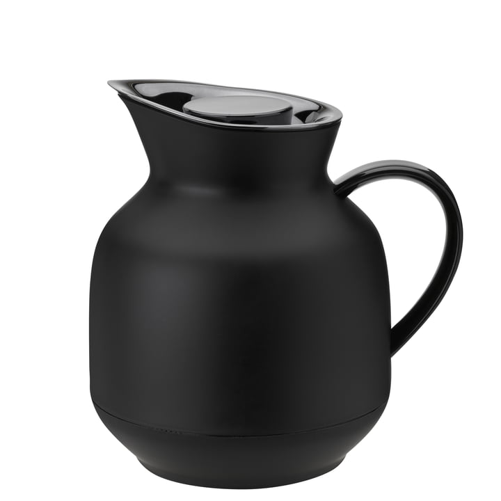 The Amphora tea insulated jug from Stelton , 1 l, soft black