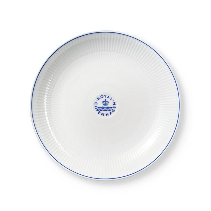 Blueline shallow bowl, 25 cm from Royal Copenhagen