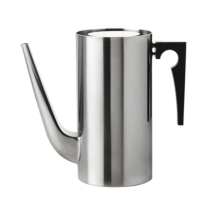 The AJ coffee pot from Stelton , 1. 5 l, stainless steel