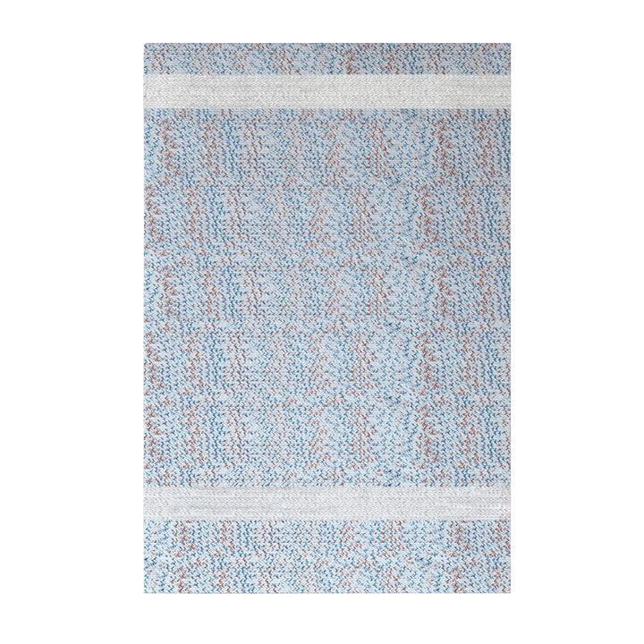 Onda Outdoor Carpet, 200 x 300 cm, white / red / blue from Fast