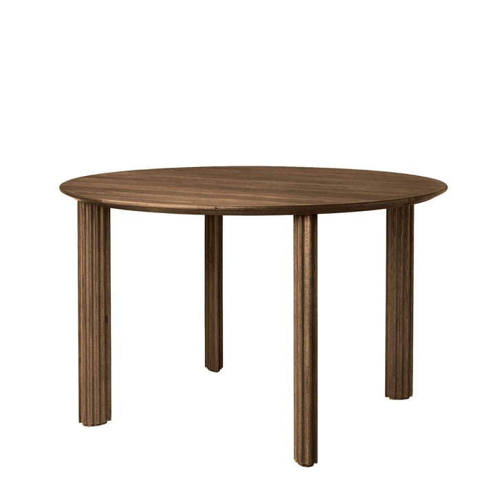 The Comfort Circle dining table Ø 120 cm from Umage , dark oak